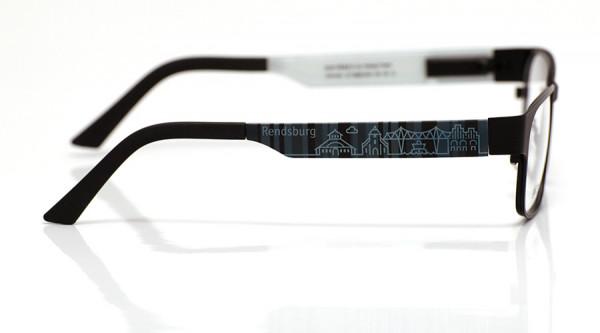 eye:max Wechselbügel 5896.0434 Kunststoff Rendsburg schwarz 140mm