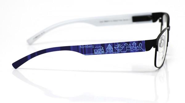 eye:max Wechselbügel 5896.0102 Kunststoff Nürnberg blau 138mm