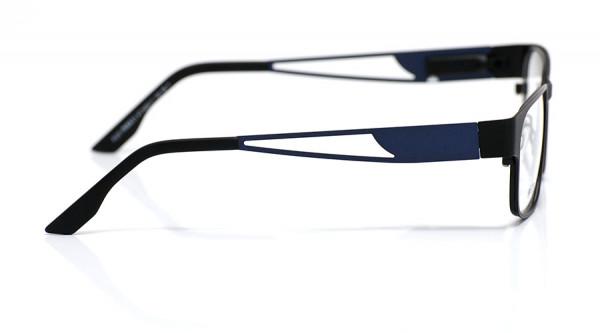 eye:max Wechselbügel 5435.11 Edelstahl rich iris matt, blau 135mm