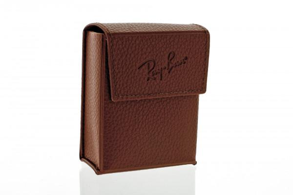 Original Ray-Ban Etui - braun - passend für Faltbrillen
