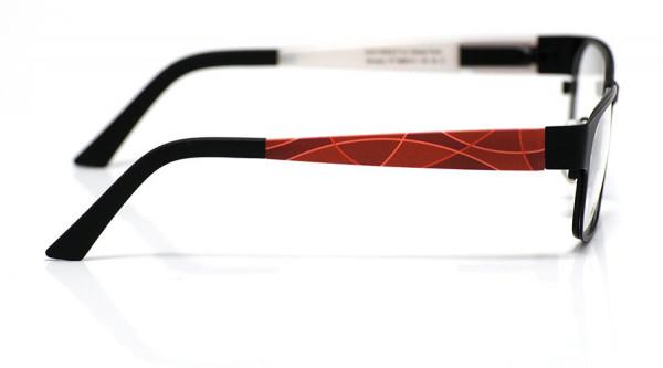 eye:max Wechselbügel 5668.011 Kunststoff Bogenlinie rot 135mm