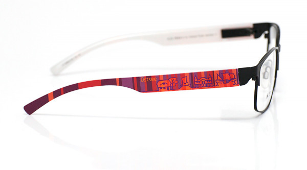 eye:max Wechselbügel 5896.0146 Kunststoff Ostsee rot lila 138mm