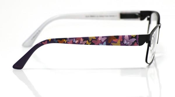 eye:max Wechselbügel 5693.23 Kunststoff Schmetterlinge pastell lila 135mm