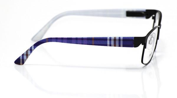 eye:max Wechselbügel 5701.354 Kunststoff blau karo 135mm