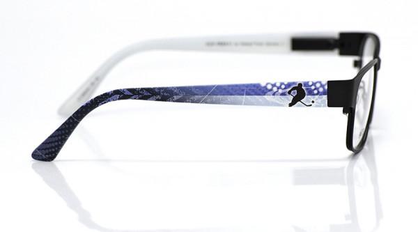 eye:max Wechselbügel 5558.04 Kunststoff Eishockey Spieler blau weiß 135mm