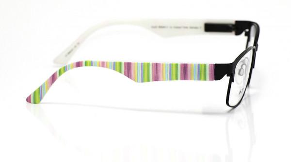eye:max Wechselbügel 5808.03 Kunststoff Streifen grün mix 135mm