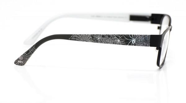 eye:max Wechselbügel 5412.03 Kunststoff Spinnenmotiv schwarz matt 135mm