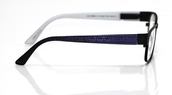 eye:max Wechselbügel 5824.11 Kunststoff Ethno geometrisch blau 135mm