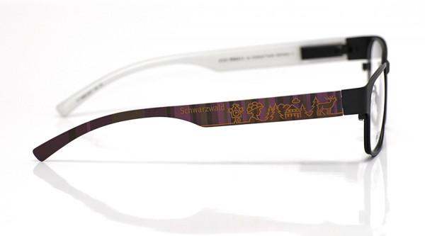 eye:max Wechselbügel 5896.0207 Kunststoff Schwarzwald braun lila 138mm