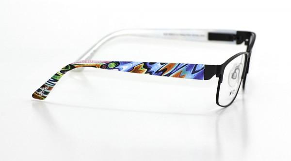 eye:max Wechselbügel 5665.01 Kunststoff Puzzle blau orange 135mm