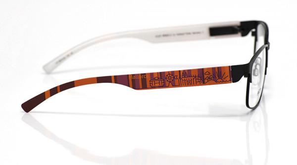 eye:max Wechselbügel 5874.06 Kunststoff Mallorca rot lila 138mm