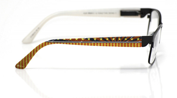 eye:max Wechselbügel 5823.10 Kunststoff Zirkus rot blau gelb 135mm