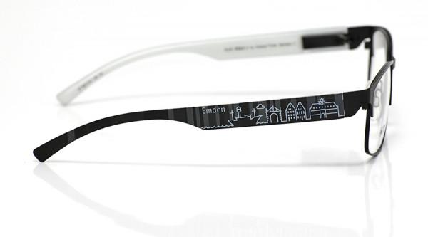 eye:max Wechselbügel 5877.04 Kunststoff Emden schwarz 138mm