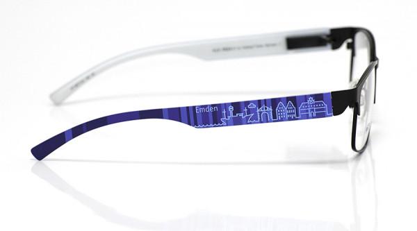 eye:max Wechselbügel 5877.02 Kunststoff Emden blau 138mm