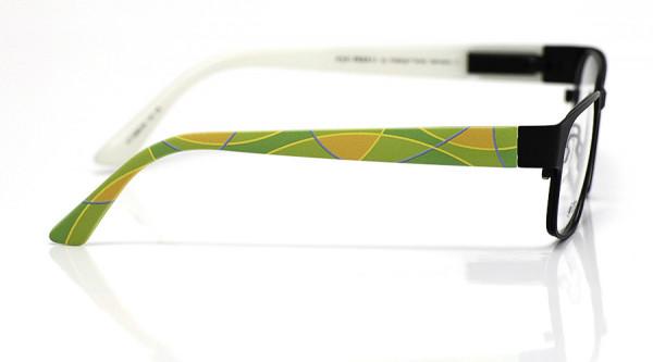 eye:max Wechselbügel 5668.06 Kunststoff Bogenfarbflächen grün orange 135mm