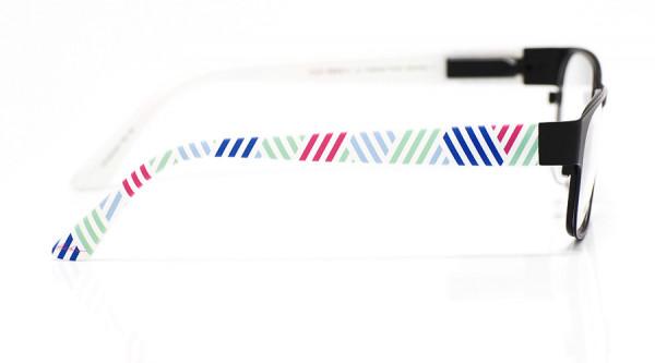 eye:max Wechselbügel 5415.01 Kunststoff Streifen weiß, bunt 135mm