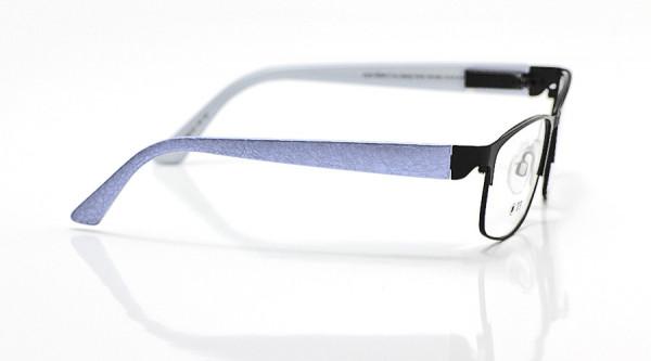 eye:max Wechselbügel 5663.05 Kunststoff Brokat hellblau 135mm
