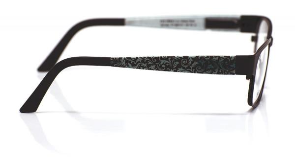 eye:max Wechselbügel 5897.411 Curley Blätter schwarz 135mm