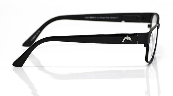 eye:max Wechselbügel 5568.06 Kunststoff schwarz glänzend Delphin 135mm