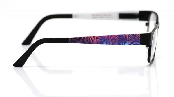 eye:max Wechselbügel 5461.01 Kunststoff Wellen pink, blau 135mm