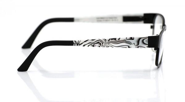 eye:max Wechselbügel 5594.011 Kunststoff perlmutt weiß schwarz 135mm