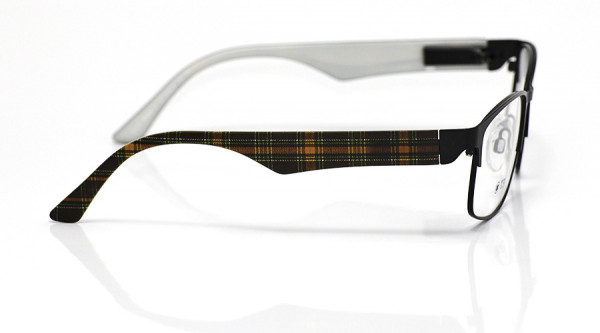 eye:max Wechselbügel 5704.06 Kunststoff Karo braun 135mm