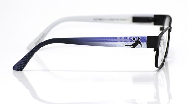 eye:max Wechselbügel 5810.04 Kunststoff Handball blau weiß 135mm