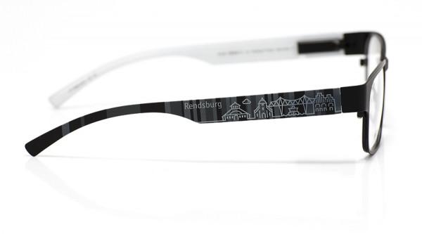 eye:max Wechselbügel 5896.0434 Kunststoff Rendsburg schwarz 138mm