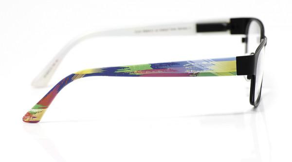 eye:max Wechselbügel 5575.12 Kunststoff Pinselstreifen blau bunt 135mm