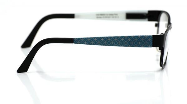 eye:max Wechselbügel 5413.071 Kunststoff Kreise, petrol 135mm