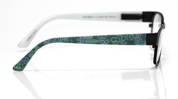 eye:max Wechselbügel 5882.019 Kunststoff Arzt op grün 135mm