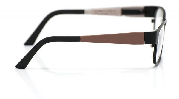 eye:max Wechselbügel 5800.42 Kunststoff braun matt 125mm
