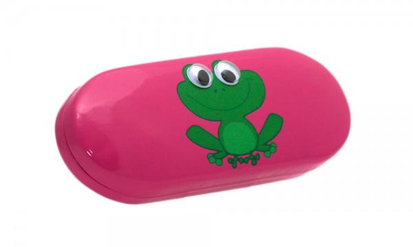 Brillenetui Frosch