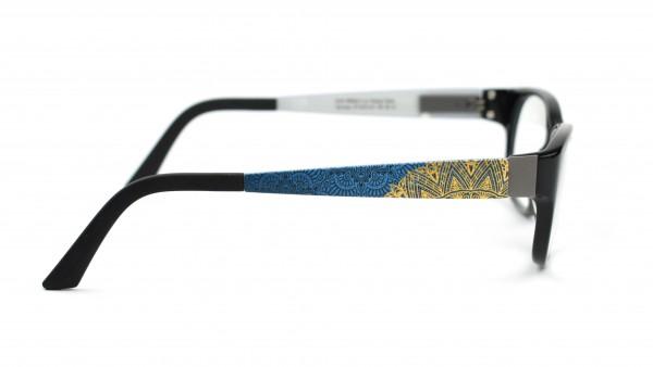 eye:max Wechselbügel 5573.101 Kunststoff Mandala blau, gold 135mm