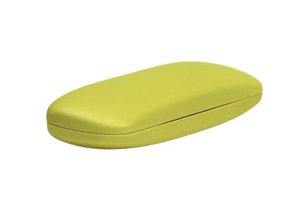 einfaches Klappetui - gelb