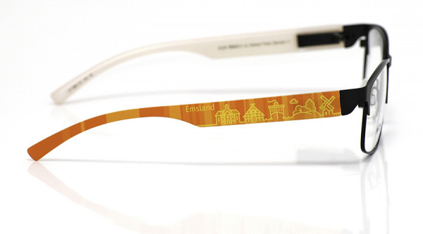 eye:max Wechselbügel 5881.03 Kunststoff Emsland orange 138mm