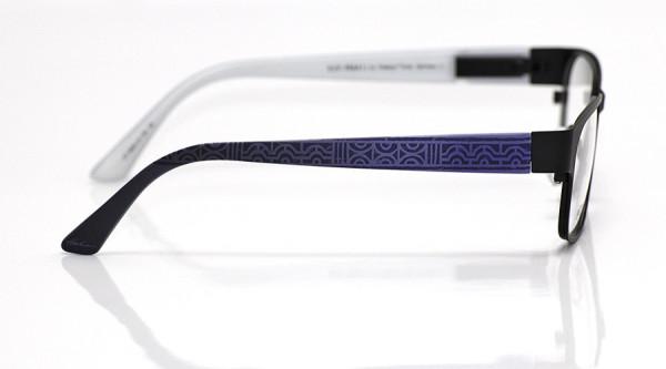 eye:max Wechselbügel 5824.14 Kunststoff Ethno geometrisch blau 135mm