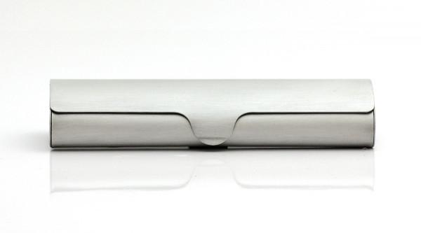 Aluminiumetui - silber - klein