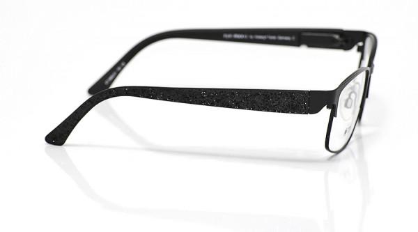 eye:max Wechselbügel 5662.01 Kunststoff Glitter/Glitzer/Weihnachten schwarz 135mm
