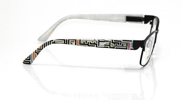 eye:max Wechselbügel 5701.185 Kunststoff bunt Linien 135mm