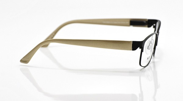 eye:max Wechselbügel 5602.13 Kunststoff braun glänzend 135mm