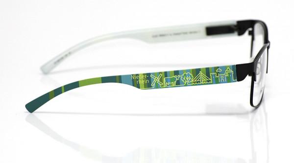 eye:max Wechselbügel 5872.05 Kunststoff Niederrhein mint petrol 138mm