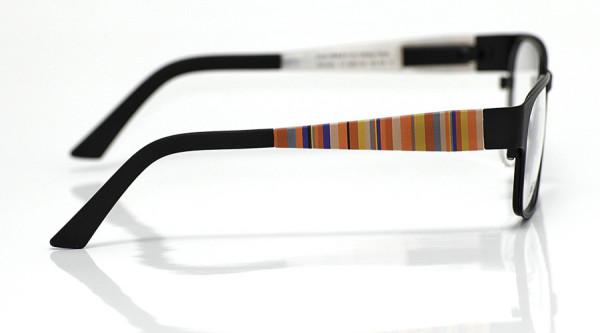 eye:max Wechselbügel 5567.09 Kunststoff Vertikale Streifen pink,gelb,blau 125mm