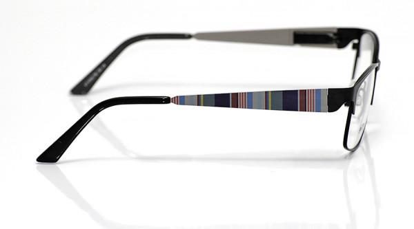 eye:max Wechselbügel 5700.178 Edelstahl lila Streifen 140mm