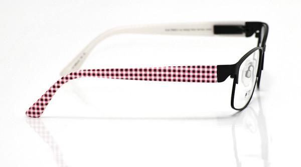 eye:max Wechselbügel 5654.03 Kunststoff rot weiß karo 135mm