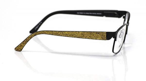 eye:max Wechselbügel 5662.03 Kunststoff Glitter/Glitzer gold 135mm