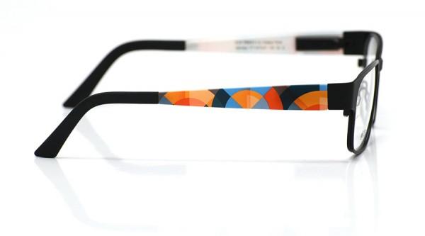 eye:max Wechselbügel 5470.01 Kunststoff geometrisches Halbkreismuster 135mm