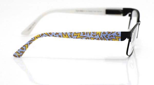 eye:max Wechselbügel 5864.01 Kunststoff Flash 80er blau gelb 135mm