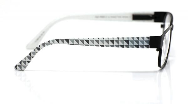 eye:max Wechselbügel 5697.28 Kunststoff Dreiecke grau 135mm