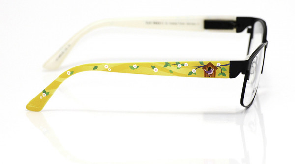 eye:max Wechselbügel 5693.06 Kunststoff Vogelhäuschen gelb 135mm